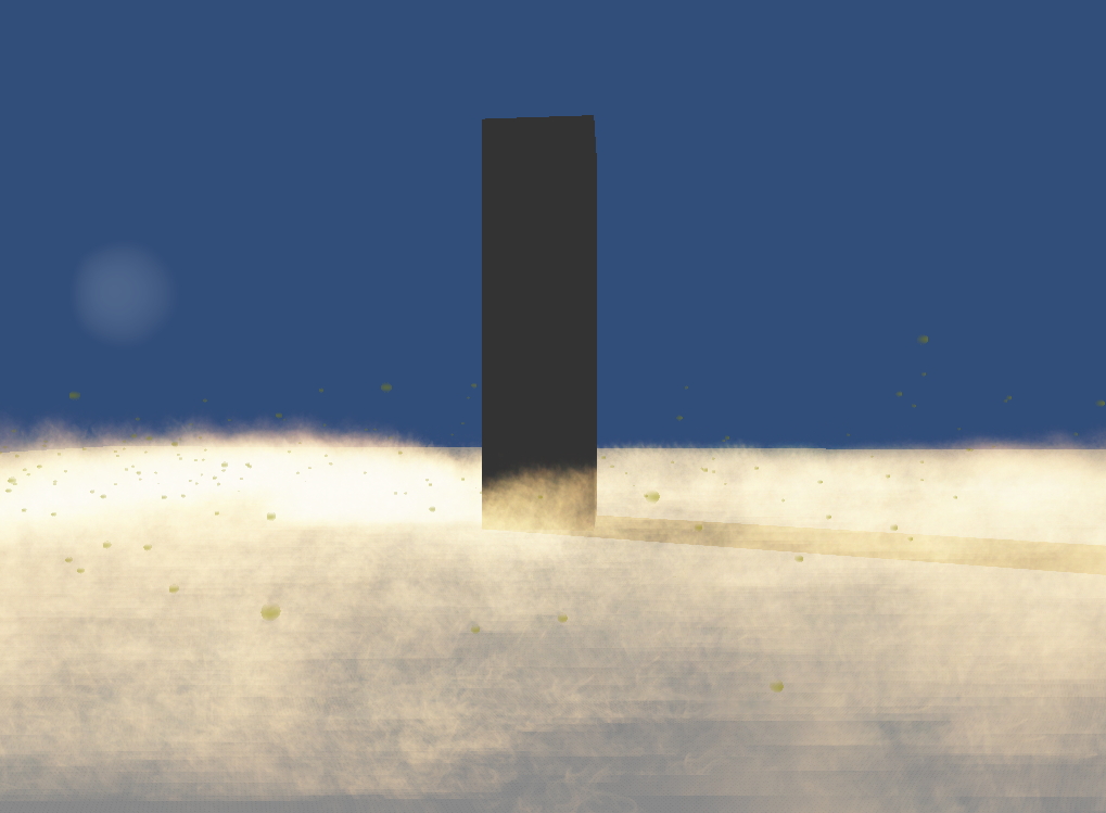 Sand particle package for unity